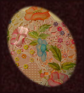 "Parchment Craft ""Flower Garden"""